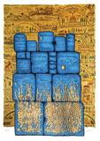 Hakotel Silketrykk av Moshé Castel