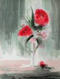Fleurs Roses Limitierte Auflage von Jean-claude Bligny