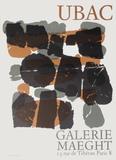 Expo Maeght 66 Sammlerdrucke von Raoul Ubac
