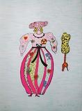 Mechant-Mechant - Femme et Mannequin Edição limitada por Niki De Saint Phalle