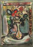 Fleurs II Samlarprint av Georges Rouault