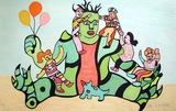 Le Monstre Edição limitada por Niki De Saint Phalle