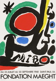 Fondation Maeght Samletrykk av Joan Miró