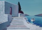Paysage De Grèce Limited edition van André Bricka
