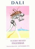 Teatro Museo Figueras 9 Impressão colecionável por Salvador Dalí