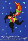 Expo L'Invitation Au Musée Impressão colecionável por Niki De Saint Phalle