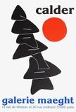 Galerie Maeght, 1976 Reproduction pour collectionneur par Alexander Calder
