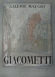 Expo Galerie Maeght 54 Impressão colecionável por Alberto Giacometti