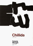 Expo Galerie Maeght 70 Reproduction pour collectionneur par Eduardo Chillida