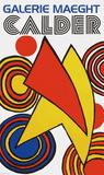 Galerie Maeght, 1973 Impressão colecionável por Alexander Calder