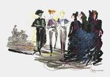 Défilé de haute-couture Collectable Print by Hyppolyte Romain