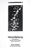 Expo Ecker Galerie Samlertryk af Hans Hartung