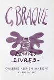 Expo Estampes Livres Samletrykk av Georges Braque