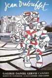 Expo Galerie Daniel Gervis II Reproduction pour collectionneur par Jean Dubuffet