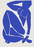 Verve - Nu bleu X Collectable Print by Henri Matisse