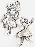 Plafond de l'Opéra: le Lac des Cygnes Samletrykk av Marc Chagall
