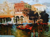 Grand canal à Venise Limited Edition by Michel Rodde