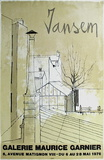 Expo Galerie Maurice Garnier Samlarprint av Jean Jansem