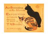 Two Cats, Steinlen Exhibit Prints