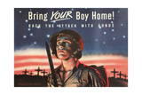 Bring Your Boy Home Poster