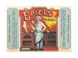 Epices Du Traiteur Label Prints