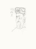 Le Goût du Bonheur 28 Serigrafia por Pablo Picasso