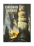 Poster for Carlsbad Caverns Pósters