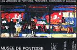 Musée De Pontoise Samlertryk af André François