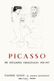 Expo 73 - Galerie Guiot Impressão colecionável por Pablo Picasso