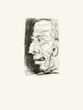 Le Goût du Bonheur 34 Zeefdruk van Pablo Picasso