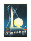 Trylon and Perisphere, World's Fair Pósters