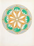 Verve - Rosace Samletrykk av Henri Matisse