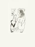 Le Goût du Bonheur 41 Silketrykk av Pablo Picasso