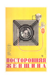 Russian Camera Film Poster Reproduction giclée Premium