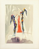 Divine Comedie, Paradis 27: Gloria Patri Premium-versjoner av Salvador Dalí