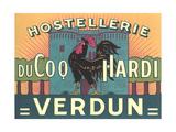 Hostellerie Du Coq Hardi Plakat