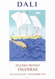 Teatro Museo Figueras 2 Samletrykk av Salvador Dalí