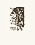 Le Goût du Bonheur 29 Serigrafia por Pablo Picasso