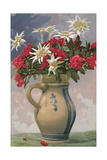 Pitcher Used as Flower Vase Affiches