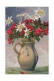 Pitcher Used as Flower Vase Affischer