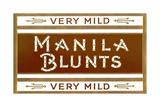 Cigar Box Graphics, Manila Blunts Prints