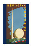 Poster for 1939 NY Worlds Fair Pósters