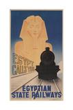 Poster for Egyptian Railways Kunstdrucke