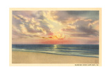 Sunrise over Cape May Poster
