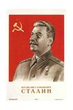 Joseph Stalin in Uniform ポスター