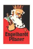 Engelhardt Pilsner Ad Plakat
