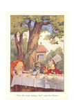 Alice in Wonderland, Mad Tea Party Print