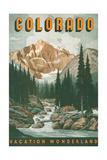 Colorado Travel Poster Print