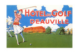 Hotel Du Golf, Deauville Posters