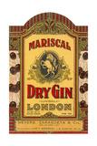 Mariscal Dry Gin Label Giclée-Premiumdruck